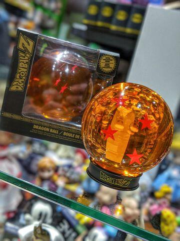 Réplique - Dragon Ball - Boule De Cristal 4 étoiles 75 Mm + Socle