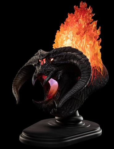 Buste Weta - Le Seigneur des Anneaux - Balrog Flame of Udun 49 cm
