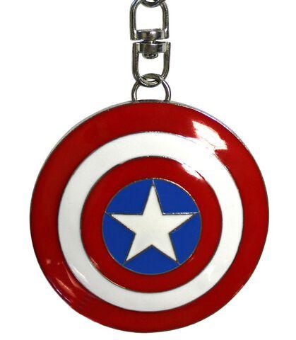 Porte-clés - Marvel - Captain America en 3D