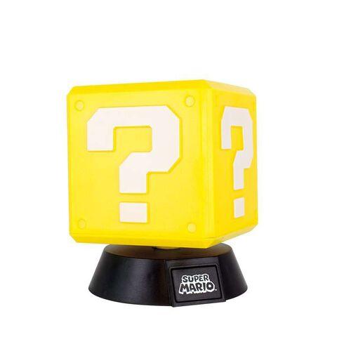 Lampe - Super Mario - Question Block 3D