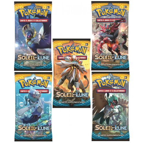 Cartes - Pokémon - Booster - Soleil & Lune 01