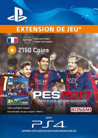 DLC - PES 2017 2150 Myclub Coins - PS4