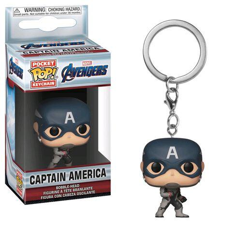 Porte-clés - Avengers Endgame - Captain America