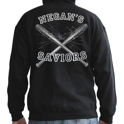 Sweat - The Walking Dead - Negan's Savior - Homme - Noir L