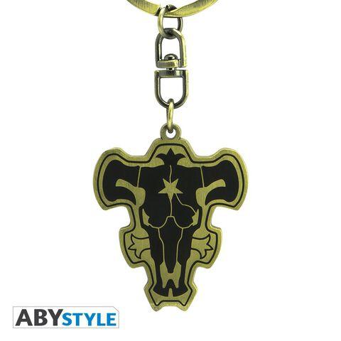 Porte-clés - Black Clover - Emblème Taureau Noir