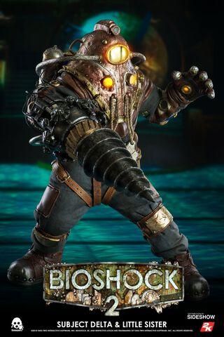 Figurine Threezero - Bioshock 2 - Twin Pack Subject Delta