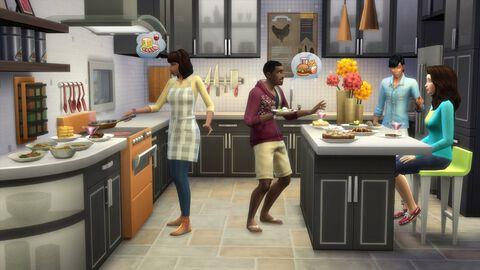 Les Sims 4 : DLC kit d'objets en cuisine