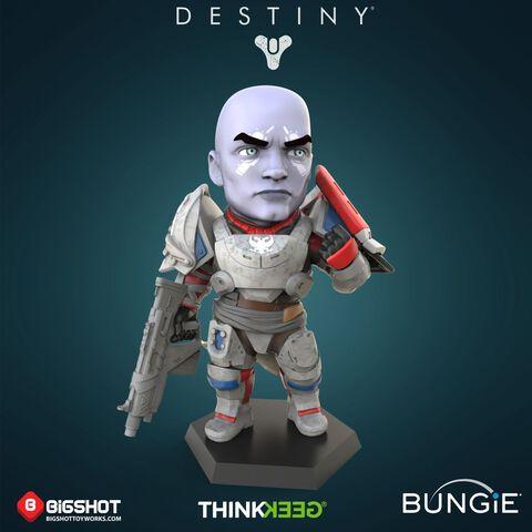 Figurine - Destiny 2 - Zavala (exclu Gs)
