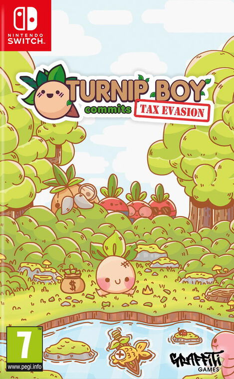Turnip Boy Commits Tax Evation