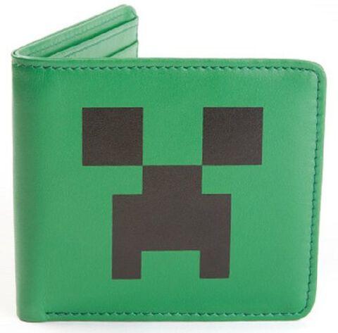 Portefeuille - Minecraft - Cuir Creeper Face