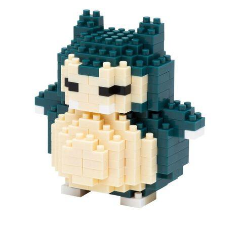 Figurine à monter Nanoblock - Pokémon - Ronflex