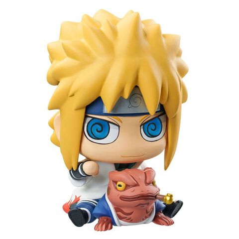 Figurine - Naruto Shippuden - Megahouse Minato et Gamabunta 15 cm