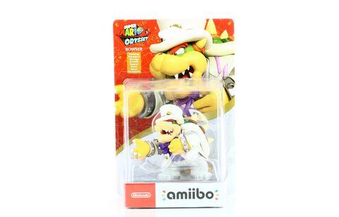 Figurine Amiibo Super Mario Bowser Tenue De Mariage