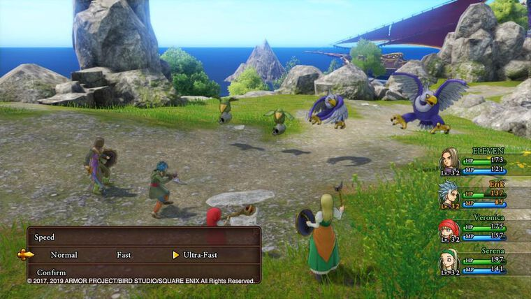 Dragon Quest XI S Les Combattants De La Destinée