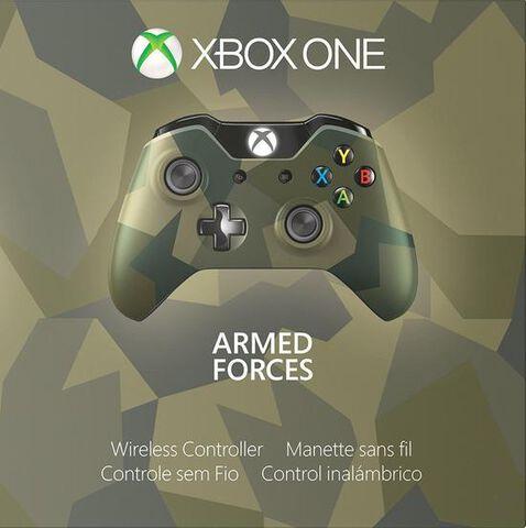 Manette Sans Fil Edition Spéciale Armed Forces II