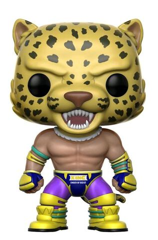 Figurine Funko Pop! N°172 - Tekken - King