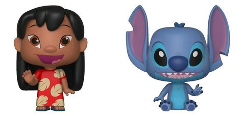 Figurine Vynl - Lilo et Stitch - Twin Pack Lilo et Stitch