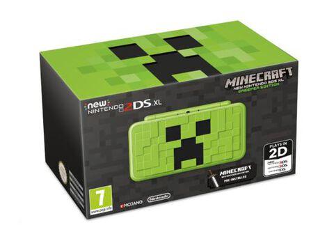 Nintendo New 2ds Xl Minecraft Creeper Edition