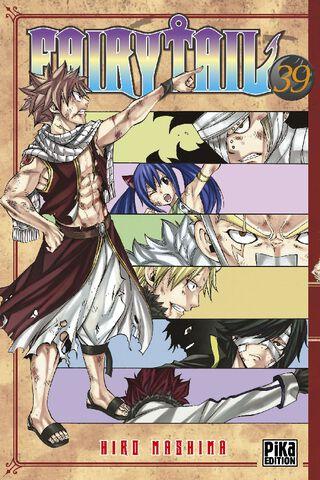 Manga - Fairy Tail - Tome 39