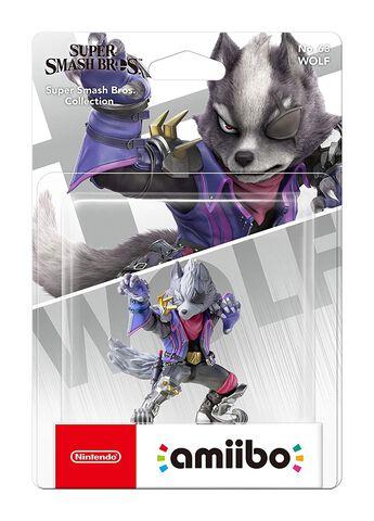 Figurine Amiibo N°63 Smash Wolf