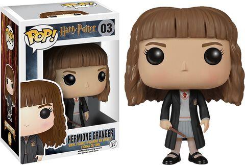 Figurine Funko Pop! N°03 - Harry Potter - Hermione et sa baguette