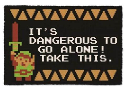 Paillasson - Zelda - Dangerous