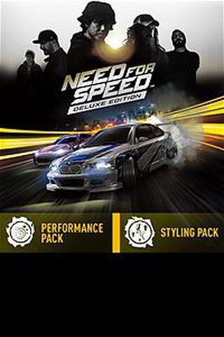 DLC - Need For Speed Upgrade vers Edition Deluxe Xbox One
