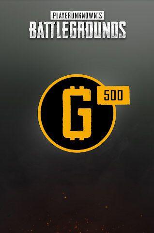 Playerunknown's Battlegrounds - DLC - 500 G-coin - Version digitale