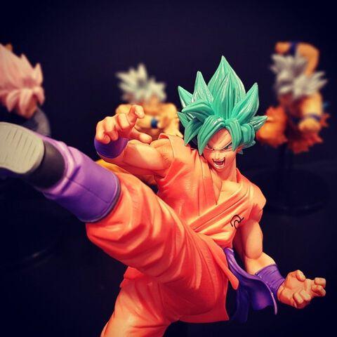 Figurine - Dragon Ball Super - Super Son Goku Fes!! Sangoku Super Saiyan God