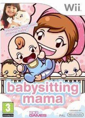 Cooking Mama World, Babysitting Mama