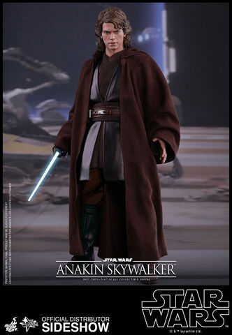 Figurine Hot Toys - Star Wars Episode III - Movie Masterpiece - Anakin Skywalker
