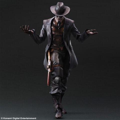 Figurine - Metal Gear Solid V The Phantom Pain - Play Arts Skull Face