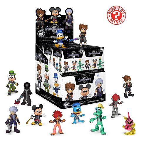 Figurine Mystère - Kingdom Hearts 3 - Assortiment Mystery Mini