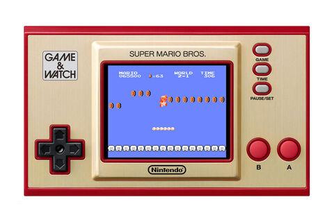 Game & Watch Super Mario Bros System