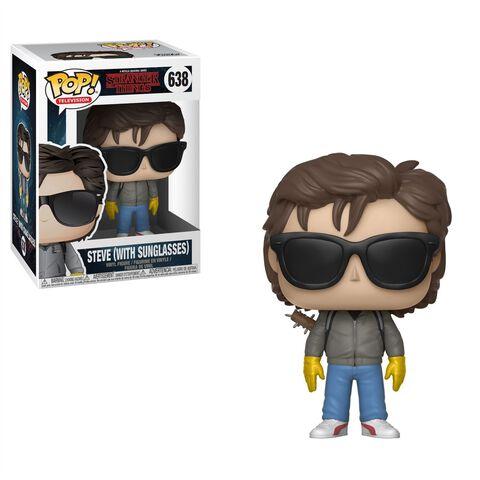 Figurine Funko Pop! N°638 - Stranger Things - Saison 2 Steve avec lunettes de soleil