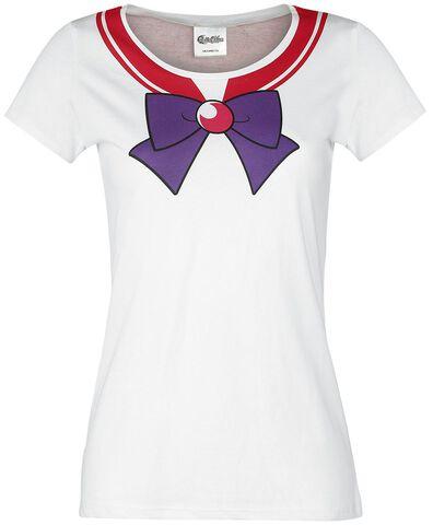 T-shirt - Sailor Moon - Sailor Mars Femme Blanc - Taille M