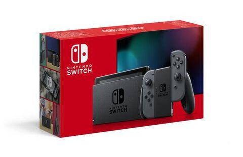 Nintendo Switch 1.1 Avec Une Paire De Joy-con Gris