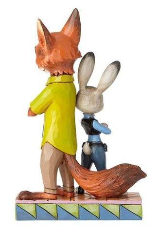 Figurine Disney Tradition - Zootopie - Judy et Nick 19 cm