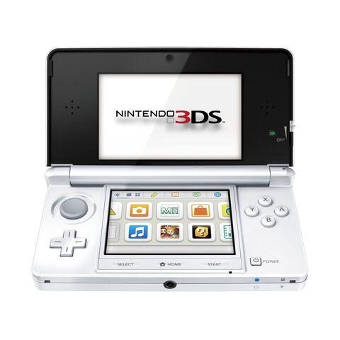 Nintendo 3DS Blanc Arctique