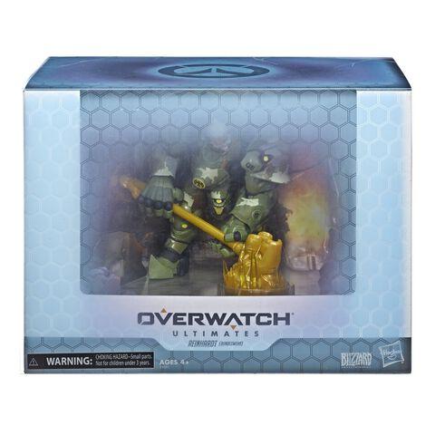 Figurine - Overwatch  - Ultimates Convention - Reinhardt