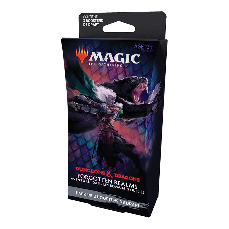 Pack 3 Booster  - Magic The Gathering - Draft Forgotten Realms