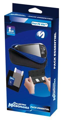 Pack Essentiel PS Vita - Micromania Collection