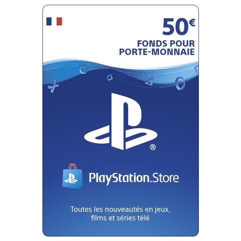 PSN Card 50 euros - PS4 - PS3 - PS Vita