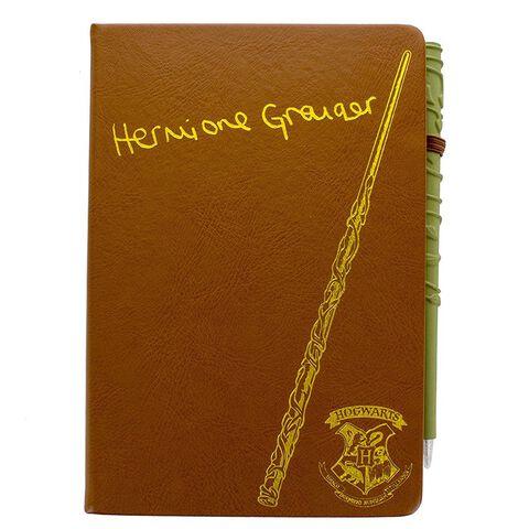 Carnet - Harry Potter - Hermione Granger Et Stylo Baguette (avp Gs)