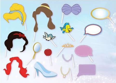 Accessoires Photo - Disney - Princesses