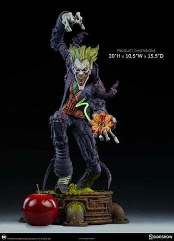 Statuette Sideshow - DC Comics - Joker Collection Gotham City Nightmare 50 cm