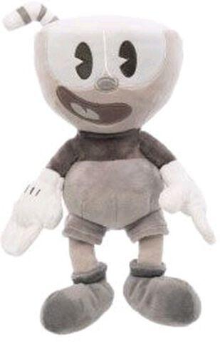 Peluche - Cuphead - Cuphead (noir et blanc)
