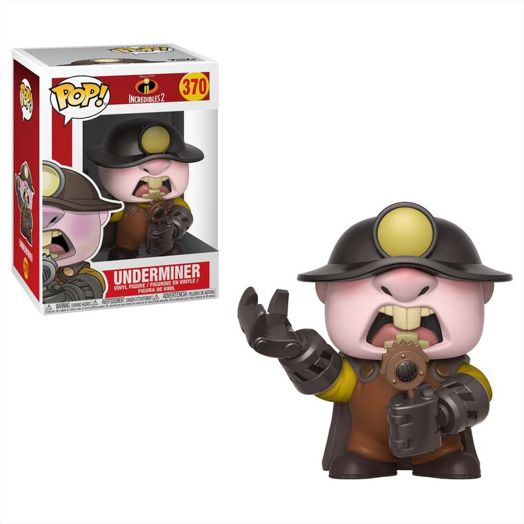 Figurine Funko Pop! N°370 - Les Indestructibles 2 - Underminer