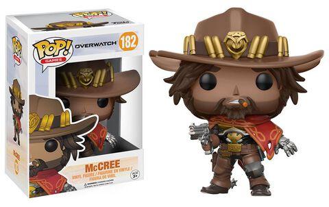 Figurine Funko Pop! N°182 - Overwatch - Mc Cree
