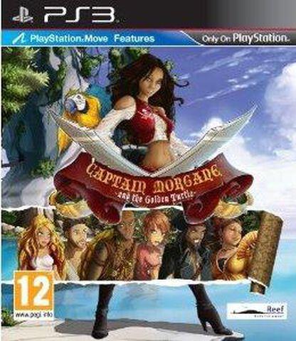 Captain Morgane Et La Tortue D'or